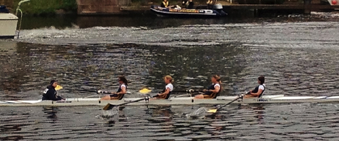 Women's 4+ at Notts City 2014