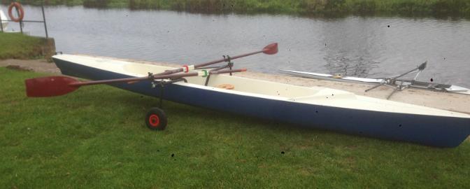 Donated Training Boat