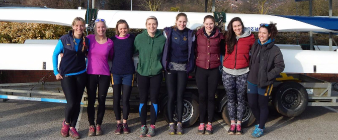 Women's IM3 8 crew Lincoln 2016