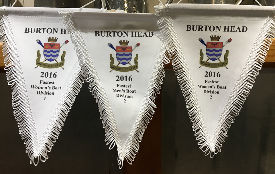 Pennants won by LBC at Burton Head 2016