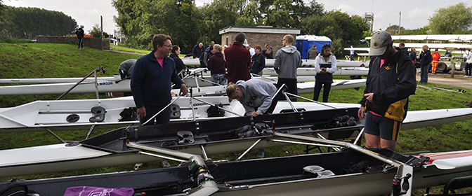 Crews for Great Ouse Marathon 2017